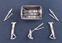 SAC 48010 Metal 1/48 BAC/EE Canberra Landing Gear Classic Airframes